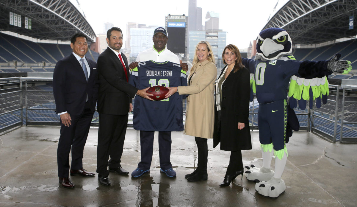 Snoqualmie Casino Partners With Seattle Seahawks