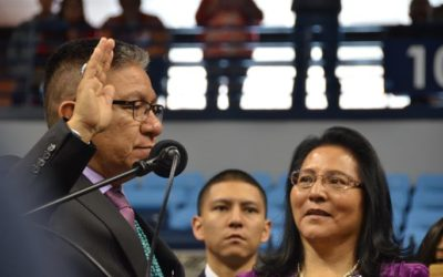 New Navajo Leaders Sworn In, Vow to Support Entrepreneurs