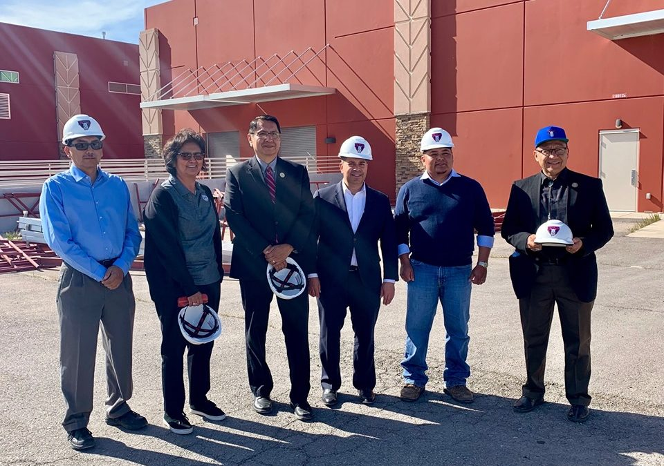 Navajo Nation Leaders Join Congressman Luján in Commending Progress of Glove Manufacturing Site