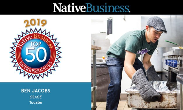 Meet Ben Jacobs, the Osage Co-Founder of Tocabe and a Native Business Top 50 Entrepreneur