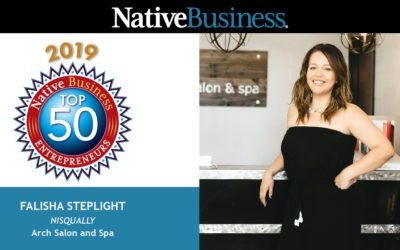 Meet Falisha Steplight, Founder of Arch Salon & Spa and a Native Business Top 50 Entrepreneurs Honoree