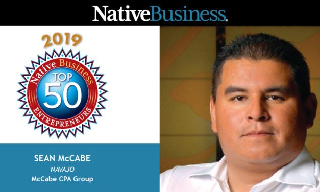 Meet Sean McCabe, Founder of McCabe CPA Group and a Native Business Top 50 Entrepreneurs Honoree