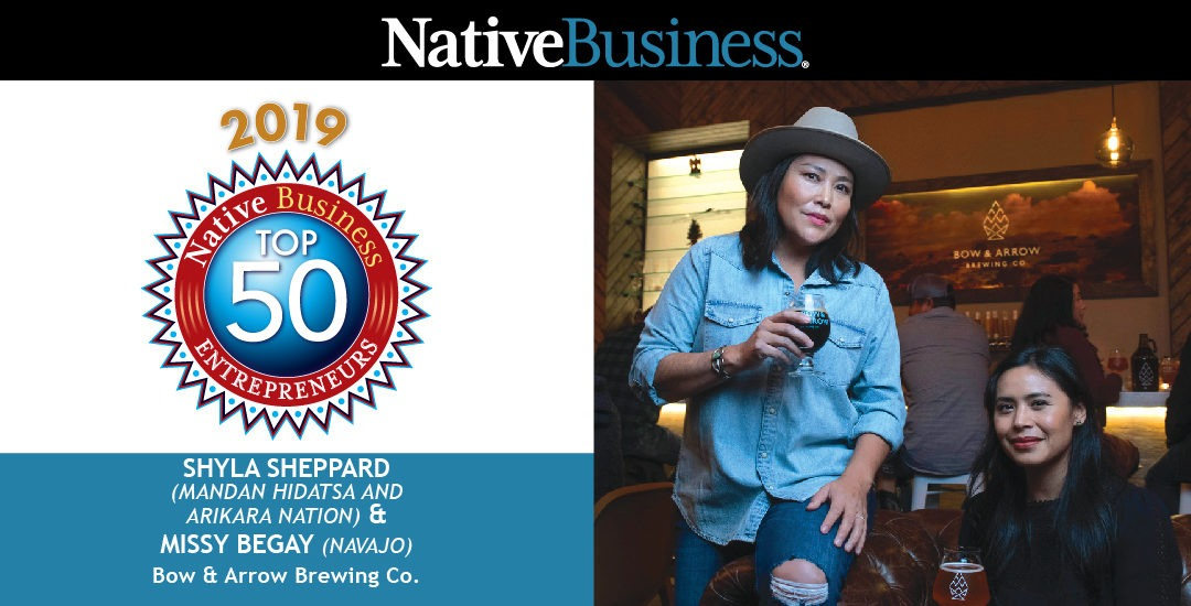 Meet the Founders of Bow & Arrow Brewing Co., Native Business Top 50 Entrepreneurs Honorees