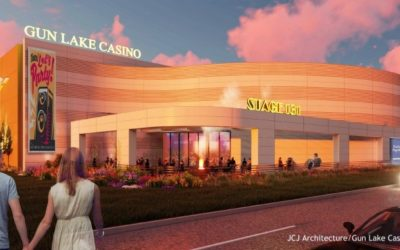 $100M Expansion to Double Size of Gun Lake Casino