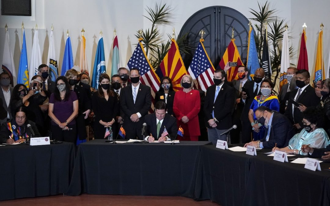 Arizona Tribes Sign Historic Gaming Compact With State, Opening Door for Casino Expansions, New Table Games, and Sports Betting