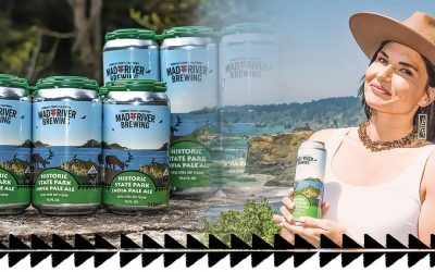 Yurok Tribes' Mad River Brewing Company and California State Park Partner on Fundraising Effort